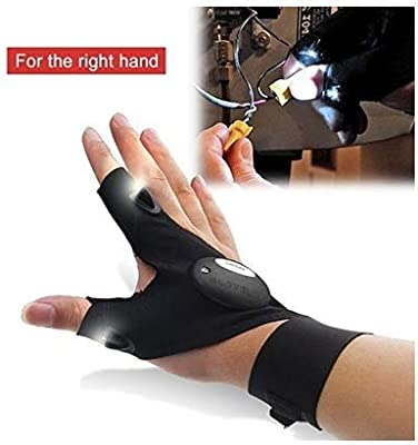 Riding Hiking Night Fishing Glove with LED Light Pgojuni Rescue Tools Outdoor Gear Fishing