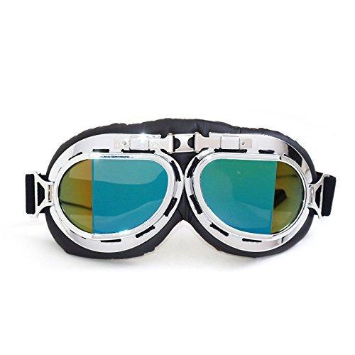 GAOYU Moto e occhiali da sole a prova di sabbia,1