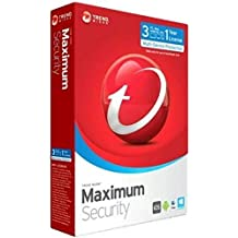 Trend Micro Maximum Security | 2018 | 3 PC's | 1 Year Subscription | PC/Mac | Registration code - No CD