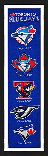 Winning Streak Toronto Blue Jays Framed 13x36 inch Heritage Banner