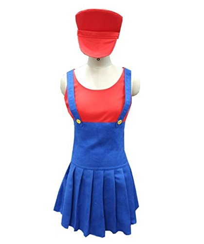 Costume Con (Mario's Plumber Costume, Red Adult (M))