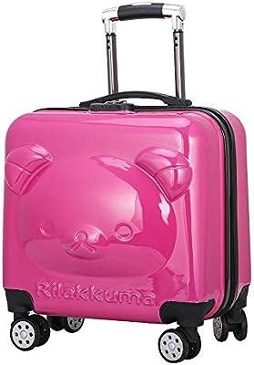 Amazon.com: Bear - Maleta de equipaje con cremallera ...