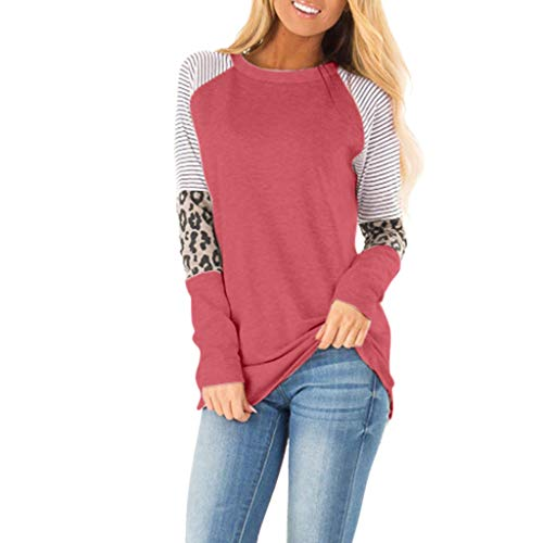 Mebamook Women's Tunic Tops Loose Blouse Shirts Tunic Tops Loose Blouse Shirts Sexy Slim Fit Stretchy Off Shoulder Pink