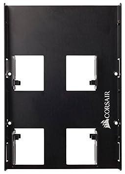 S-ATA schwarz/& Goobay 95020 Pc Datenkabel f/ür HDD Corsair SSD Einbaurahmen 50cm 2,5 Zoll auf 8,9 cm geeignet f/ür 1 x SSD 6,4 cm 3,5 Zoll SDD