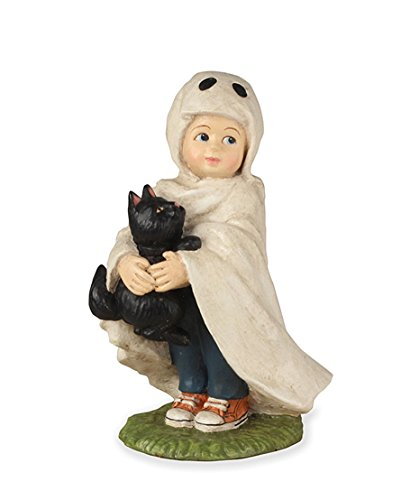Bethany Lowe TD7629 Halloween Little Ghost Jack With Black Cat 2018]()