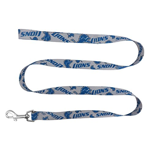 NFL Detroit Lions Team Pet Lead, 0.75-inches by (Detroit Lions Leash)