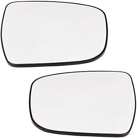 Passengers Mirror Glass /& Base Heated for Rogue Murano Pathfinder 963654BA1A