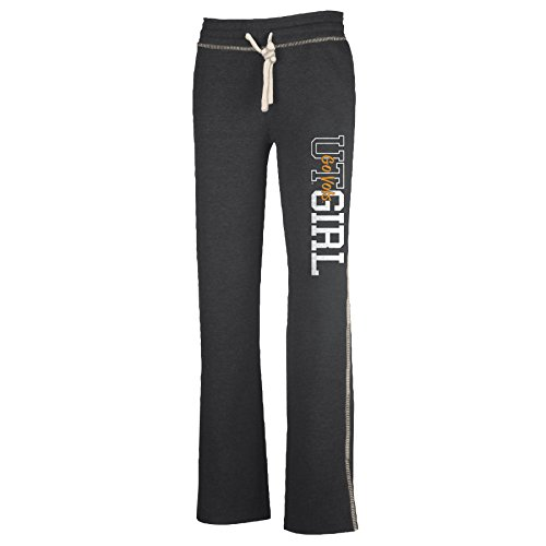 Tennessee Lounger (NCAA Tennessee Volunteers W Lounger Pant, Charcoal Heather, Large)