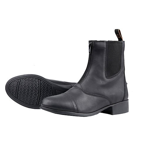 Dublin Ladies Elevation Zip Paddock Boot 7.5 Black