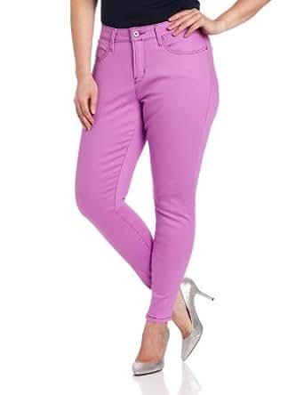 Levi's Women's Plus-Size Denim Legging Jean, Plum, 20 Plus