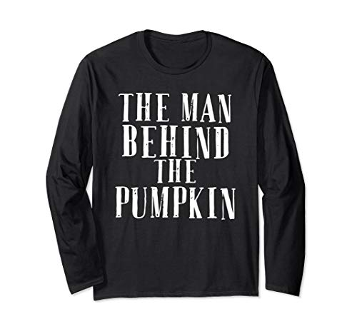 The Man Behind The Pumpkin Halloween Shirt New Father -