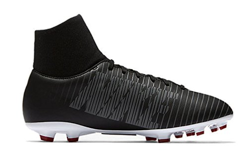 Nike JR MERCURIAL VICTORY VI DF FG – Black/White de Dark Grey de universi
