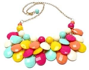Collar Perlas Coloreadas - Collar para mujer