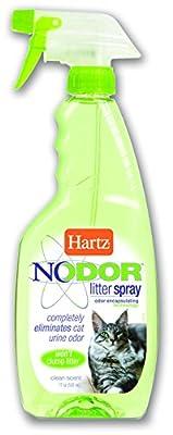 Hartz Nodor Litter Spray, Clean Scent, 17 FL OZ