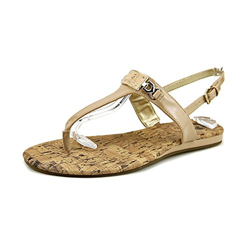 G By Guess Jemma Women Open Toe Synthetic Nude Thong Sandal