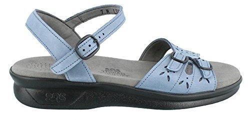 SAS Womens Duo Open Toe Casual Sport Sandals, Denim, Size 6.0