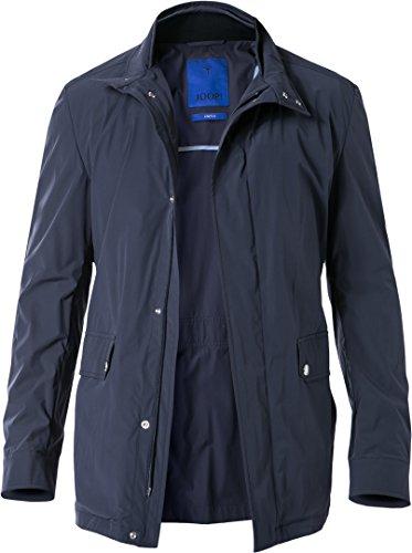 JOOP! Herren Mantel Dorian Mikrofaser Warme Jacke Unifarben, Größe: 48, Farbe: Blau