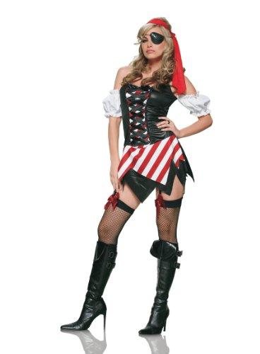 Pirate's First Mate Adult Costume - (First Mate Womens Pirate Costume)