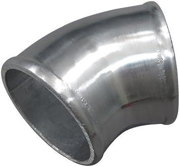 "4/"" Cast Aluminum 90 Degree Elbow Pipe Tube Turbo intercooler Polished"
