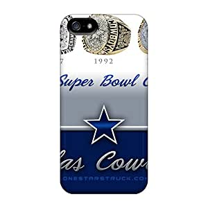 Premium AsU2439JaAm Cases With Scratch-resistant/ Dallas Cowboys Cases Covers For Iphone 5/5s