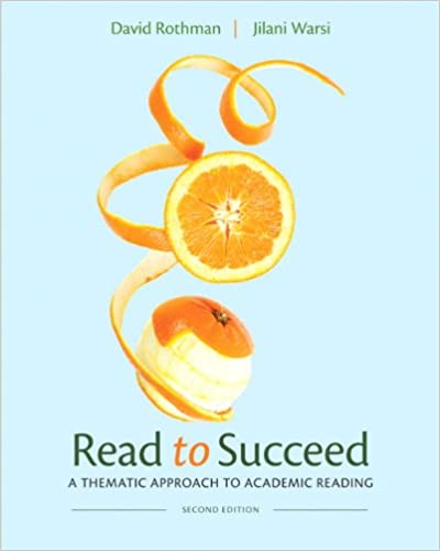 Read to succeed a thematic approach to academic reading 2nd read to succeed a thematic approach to academic reading 2nd edition david rothman jilani warsi 9780205252350 amazon books fandeluxe Image collections