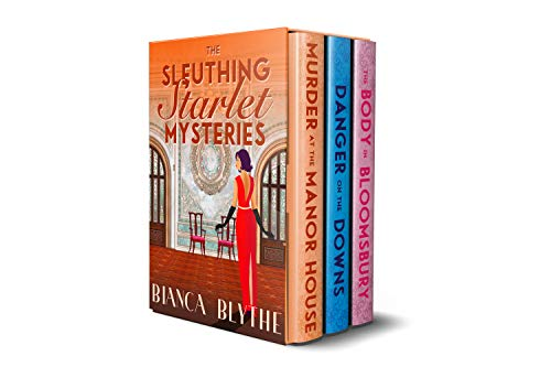 The Sleuthing Starlet Mysteries: Books 1-3 by [Blythe, Bianca]