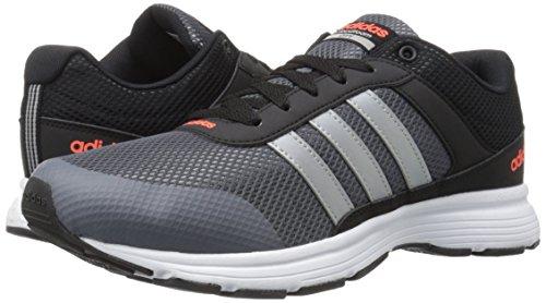 adidas performance men 39 s cloudfoam vs city m running shoe black matte silver onix 10 5 m us. Black Bedroom Furniture Sets. Home Design Ideas