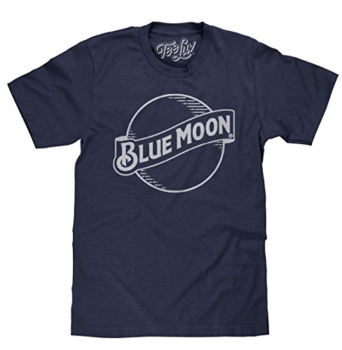 Tee Luv Blue Moon Beer T-Shirt - Blue Moon Brewing Company Logo Shirt (XX-Large) ()