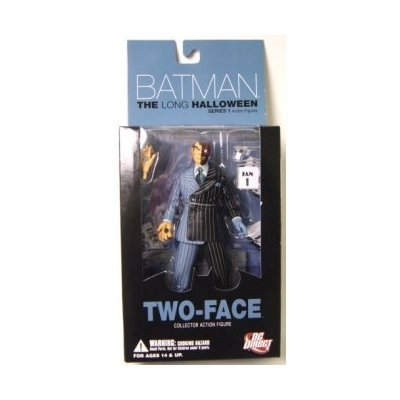 Batman The Long Halloween 1: Two-Face Action Figure by DC (Batman The Long Halloween Two Face)