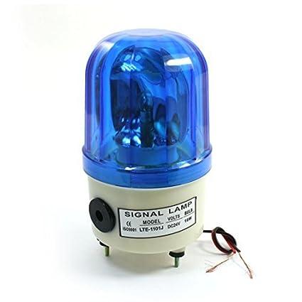 DC 24V 10W Alarma Rotary lámpara industrial luz de señal LTE ...