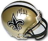 Mark Ingram Signed Autograph New Orleans Saints Riddell Mini Helmet- Ingram Hologram