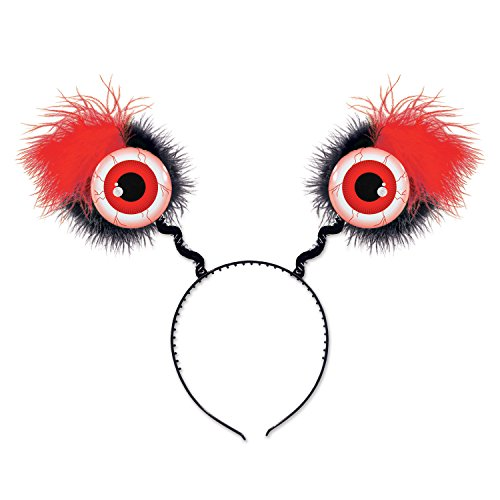 [Beistle 00530-R 1 Piece Red Eyeball Boppers, One Size Fits Most] (Lady Reaper Costumes)