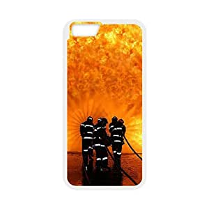 iPhone 6 Plus Screen 5.5 Inch Csaes Cell Phone Case Firefighter Emblem CBQG292013