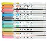 Zebra MILDLINER WKT7-5C (5-Color Set) /WKT7-N-5C