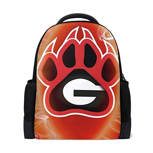 - Creative Dog Backpack Travel Daypack Unisex School Bag for Men Girls Women Boys