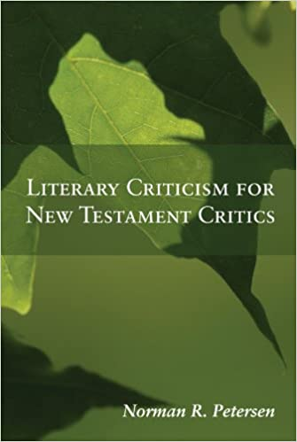 Book Literary Criticism for New Testament Critics