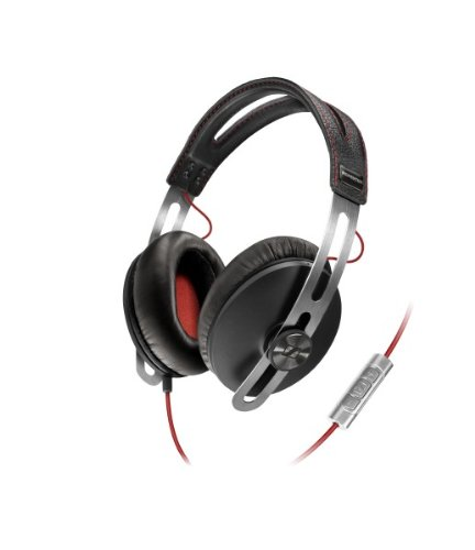 Sennheiser Momentum 1.0 Closed Circumaural Over-Ear Headphone with Smart Remote - Black