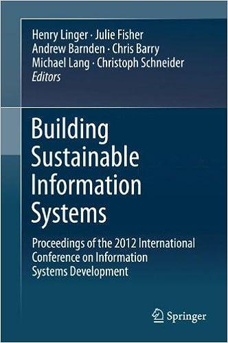 Téléchargez les manuels au format pdf Building Sustainable Information Systems PDF ePub 1461475392