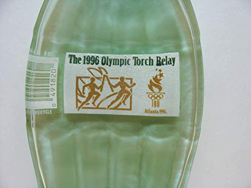 1996 Atlanta Olympics Torch Relay Commemorative Coke Classic Bottle Slumped for Spoon Rest