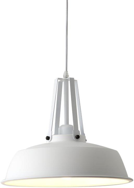 Ceiling light Home mall- Lámpara colgante de hierro Bar Corredor Cocina Sala de estar Araña de luces Macaron 35 * 30CM Color Verde militar, Verde oscuro, Blanco mudo, Negro E27 * 1 (