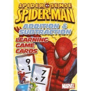 Spider-Man Spider-Sense Addition & Subtraction Learning Game Cards