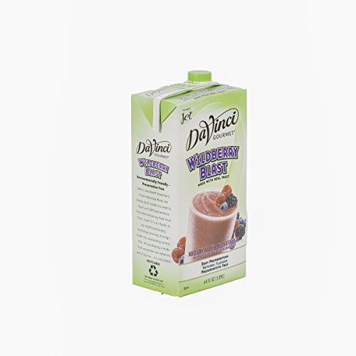 DaVinci Gourmet Wildberry Blast Smoothie Mix 64 oz, Pack of 6 by DaVinci Gourmet