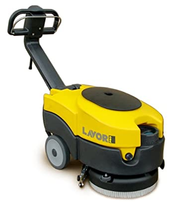 """Lavor LAVOR36B Quick Battery Powered Floor Scrubber and Drier, 14"""" Scrubbing Path"""