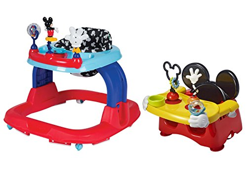 Minnie Babies Costume Us R Mouse (Disney Mickey Mouse Baby Walker and Disney Minnie Mouse Baby Portable Feeding and Activity High Chair Booster)
