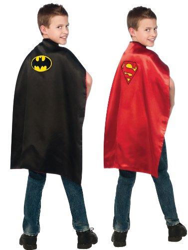 Imagine by Rubie's Batman and Superman Reversible Kids Cape