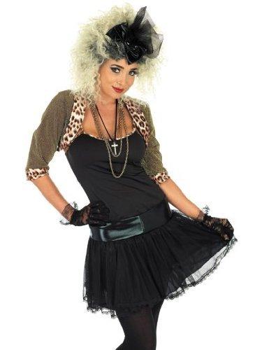 Medium 80's Black Ladies Pop Star (80's Pop Stars Costume Ideas)