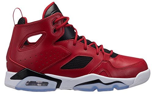 600 Gym Jordan Black White Red 555472 Bambino 5qxxpP8