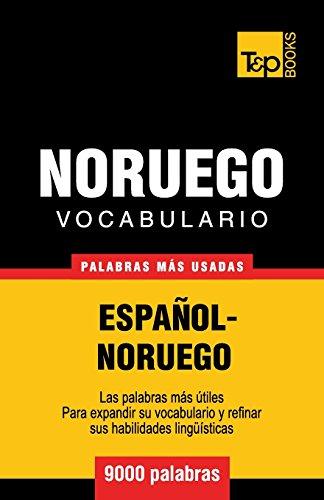 Vocabulario Español-Noruego - 9000 palabras mas usadas (Spanish Edition) [Andrey Taranov] (Tapa Blanda)