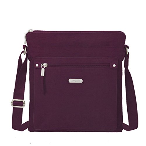 Baggallini Go Bagg with Rfid Wristlet, Eggplant by Baggallini