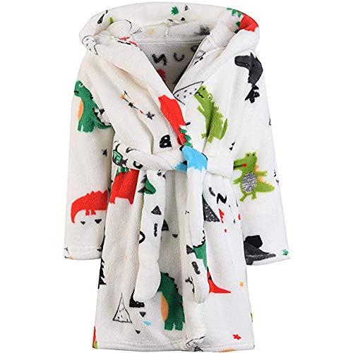 Bathrobes Toddler Hooded Pajamas Sleepwear